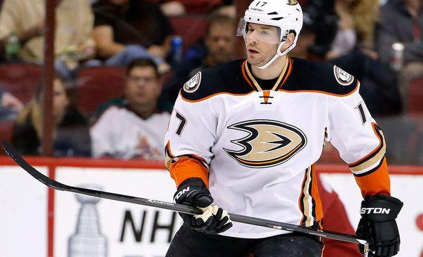 Ryan Kesler jatkaa Anaheimissa aina vuoteen 2022 asti.