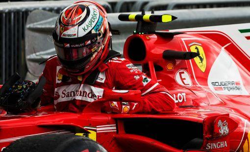 Kimi Räikkönen esitti taistelijaluonteen Britannian GP:ssä.