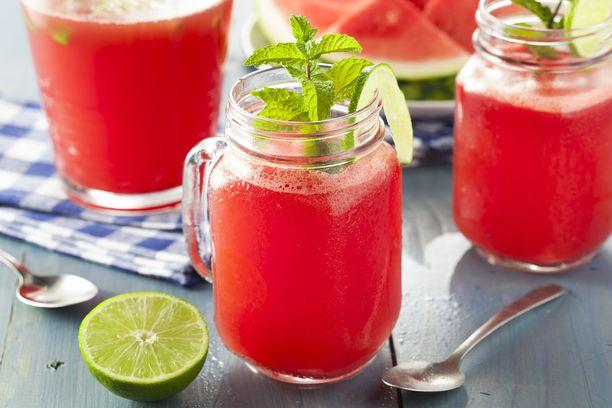 Aqua frescan voi valmistaa myös vesimelonista.