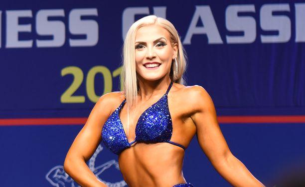 Julia Hannula nousi Suomen mestariksi.