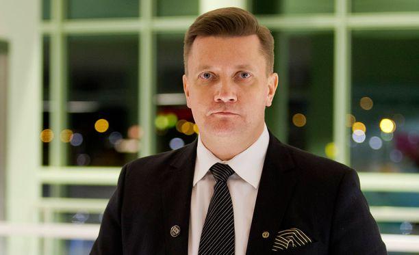 Mika Eskola aloitti TPS:n toimitusjohtajana tammikuussa 2015.