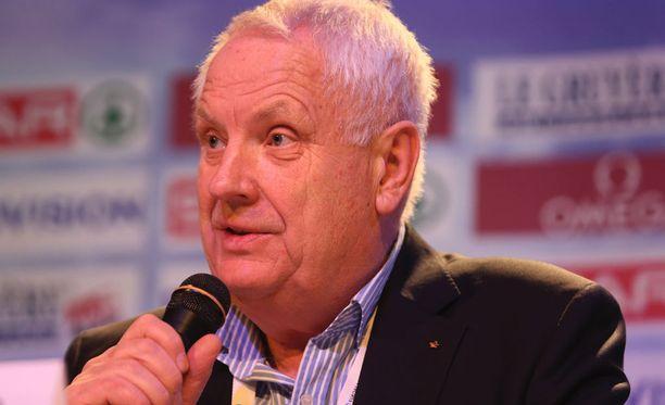 Norjalainen Svein Arne Hansen johtaa Euroopan yleisurheiluliittoa.
