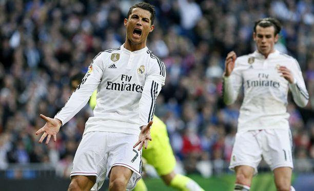 Cristiano Ronaldo (vas.) ei pitänyt Gareth Balen ratkaisusta.