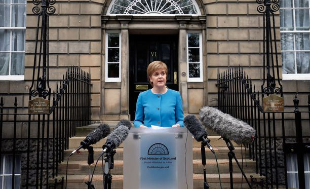 Skotlannin pääministeri Nicola Sturgeon vannoo tekevänsä voitavansa, jotta Skotlanti pysyy EU:ssa.