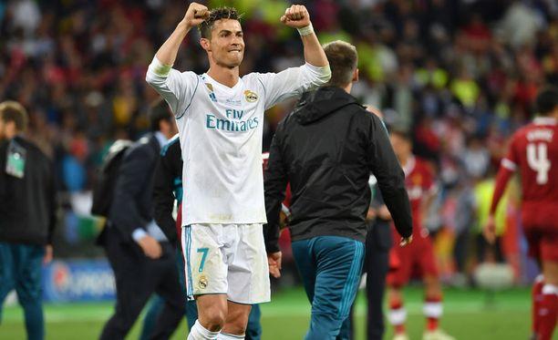 Cristiano Ronaldo tuuletti seurajoukkueessa edellisen kerran toukokuisessa Mestarien liigan finaalissa.
