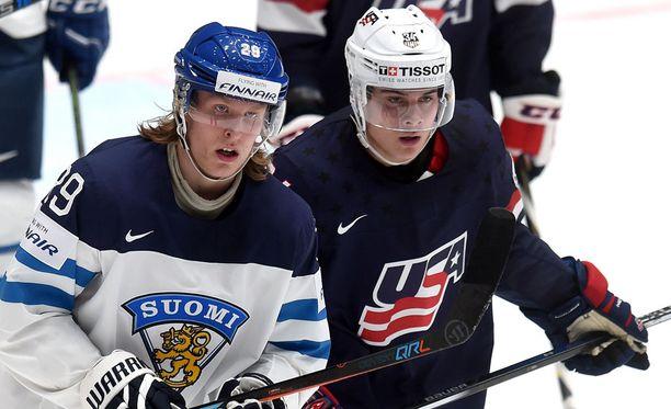 Patrik Laine ja Auston Matthews varataan perjantain ja lauantain välisenä yönä NHL:ään.