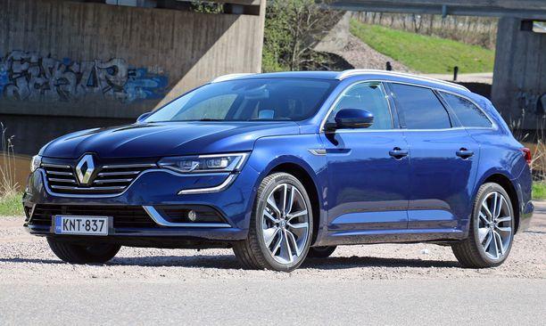 13. Renault Talisman toi ranskalaismerkin vakuuttavasti takaisin isojen autojen markkinoille.