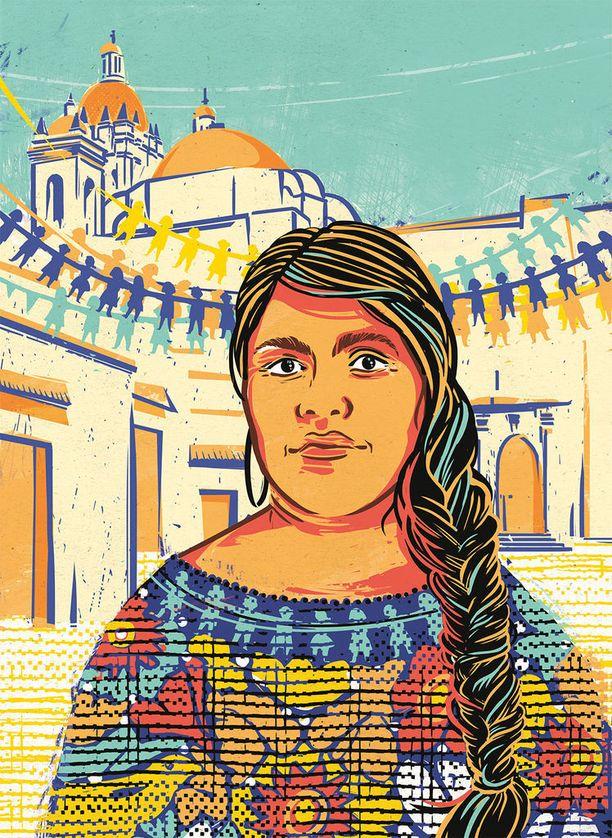 Kuvittanut Paola Rollo.