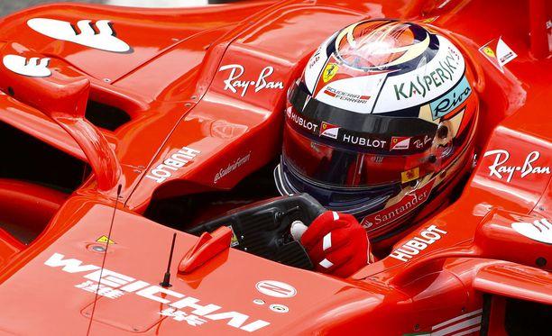 Kimi Räikkönen sai mielestään kohtuullisen hyvän aloituksen GP-viikonloppuun.