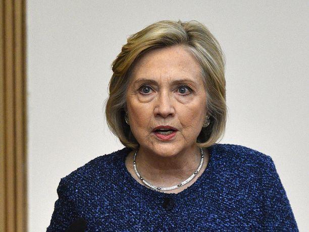 Yhdysvaltain entinen ulkoministeri ja demokraattipuolueen presidenttiehdokas Hillary Clinton haluaa pysäyttää oikeistopopulistiset liikkeet.