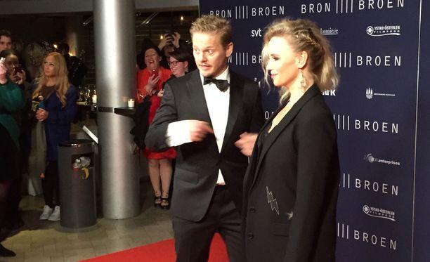 Sarjan tähdet ovat paikalla kansainvälisessä ensi-illassa Kööpenhaminassa.