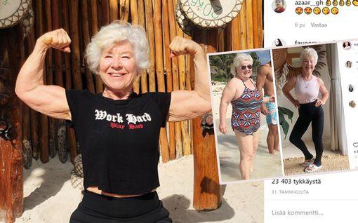 """73-vuotias Joan kertoo, että oli kuolemassa hitaasti – puoli vuotta muutti kaiken: """"Kuka haluaisi pehmeät luut?"""""""