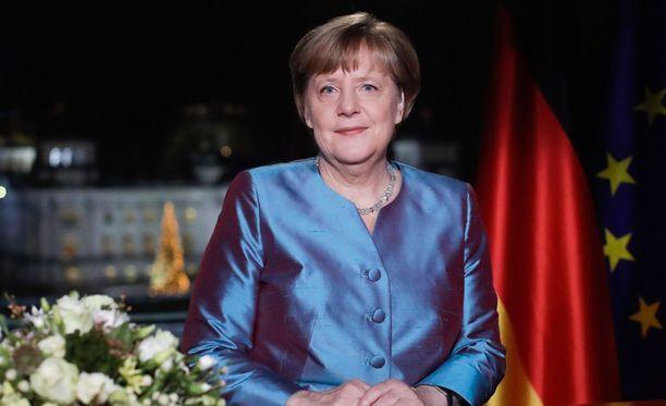 Saksan liittokansleri Angela Merkel on pitänyt uudenvuodenpuheensa.