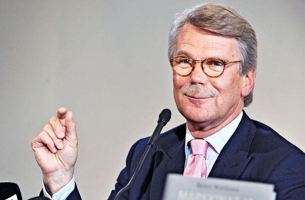 Sammon hallituksen puheenjohtaja Björn Wahlroosille on luvassa yhtiöstä muhkeat osingot.