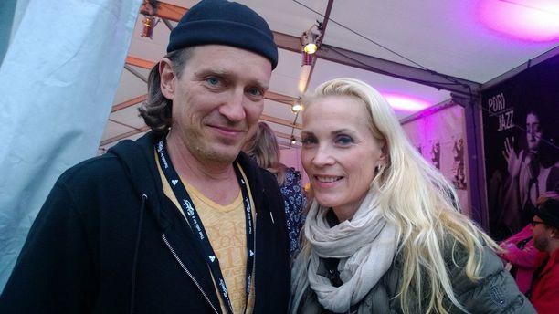 Speedy Saarinen ja Marja Kinnunen.