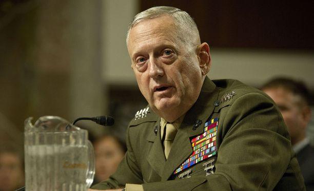 Kenraali James Mattis.