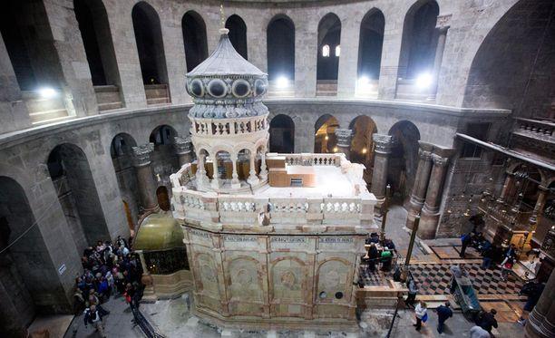 Kunnostus maksoi 3,4 miljoonaa euroa ja sen maksoivat kristilliset kirkkokunnat, jotka hallinnoivat kirkkoa.