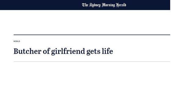 Australian vanhin sanomalehti uutisoi suomalaismiehen tuomiosta vuonna 2006.