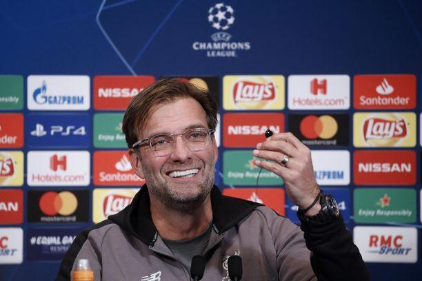 Jürgen Klopp luotsaa Liverpoolia tänä iltana PSG:n kotistadionilla Parc des Princesillä.