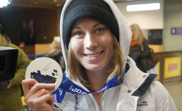 Enni Rukajärvi on olympia- ja MM-mitalisti.