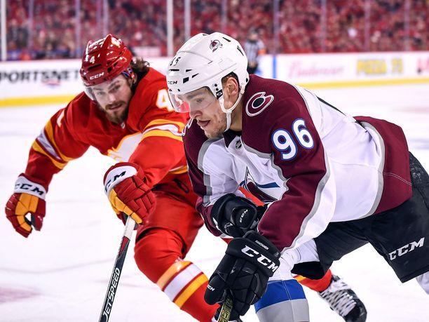 Calgary oli helisemässä Mikko Rantasen kanssa.