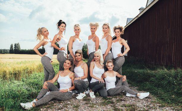 Miss Fitness Finland 2017 kilpailu ratkeaa Nordic Fitness Expossa 7-8.10.2017.