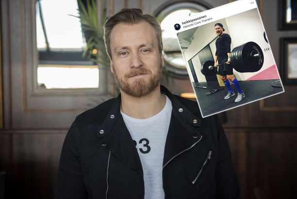 Heikki Paasonen on heittänyt ilmoille voimailuhaasteen.
