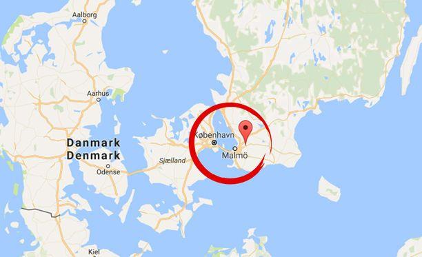 Staffanstorp sijaitsee Etelä-Ruotsissa lähellä Malmöä.