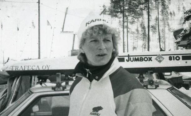 Montako arvokisakultaa Marja-Liisa Kirvesniemi voitti?