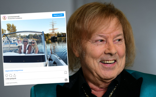 """Danny kommentoi suhdettaan 19-vuotiaaseen Helmiin Me Naiset Radiossa: """"Normaali ihmissuhde"""""""