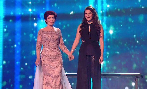 Sharon Osbourne jännittää suojattinsa Saara Aallon kohtaloa tänä viikonloppuna X Factor -finaalissa.