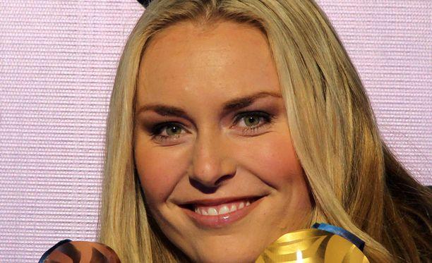 Lindsey Vonn voitti Vancouverissa 2010 kaksi olympiamitalia.