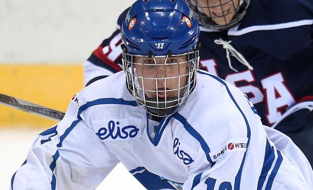 Janne Kuokkanen sai NHL-sopimuksen.