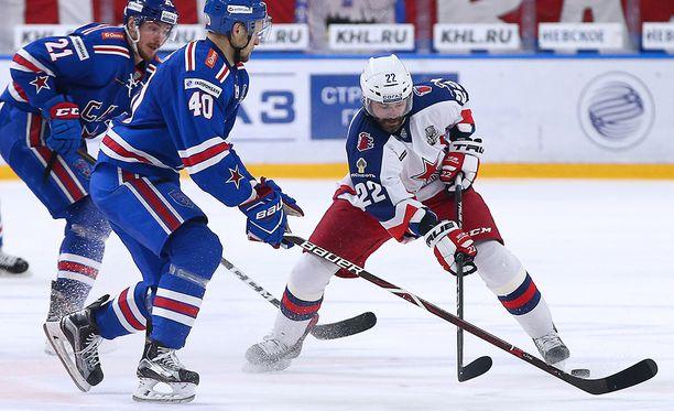 SKA ja ZSKA mittelevät KHL-välierissä.