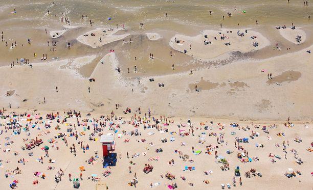 Pärnun suurimpia vetonauloja on sen upea ranta.