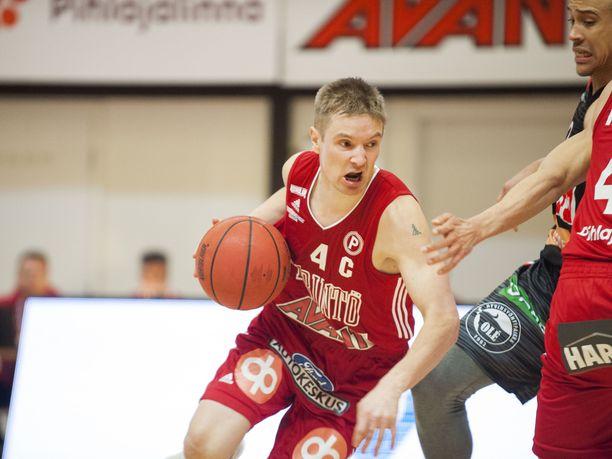 Antero Lehto edusti viime kaudella Tampereen pyrintöä.
