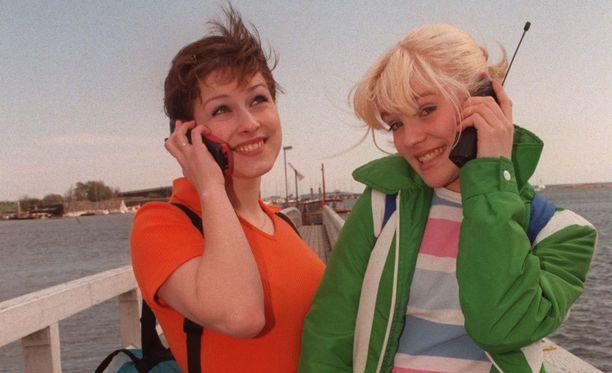 Erin ja Jonna tekivät pikaisen comebackin jo vuonna 2007.