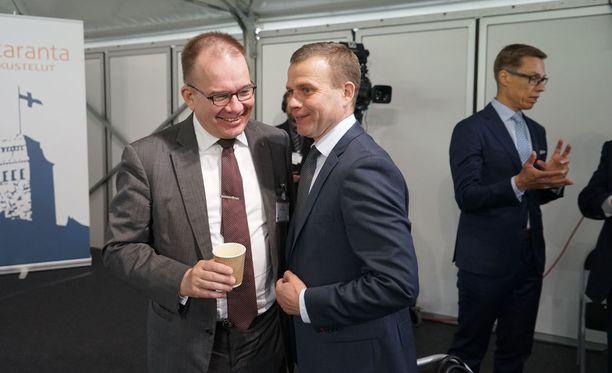 Petteri Orpo osallistuu Naantalissa Kultaranta-keskusteluihin.