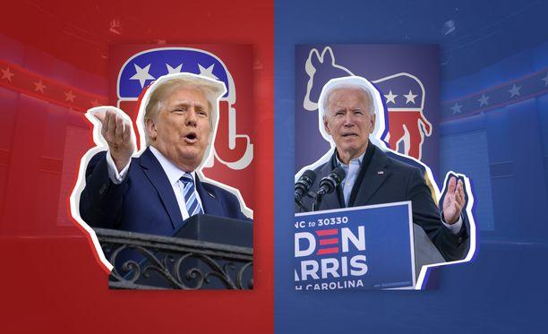 Trumpin ja Bidenin väliset vaalit järjestetään 3. marraskuuta.