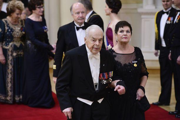 Tuomas Gerdt Linnan juhlissa 2015.