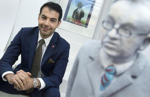Hussein al-Taee on valittu Vuoden vantaalaiseksi Vantaan Sanomien äänestyksessä.