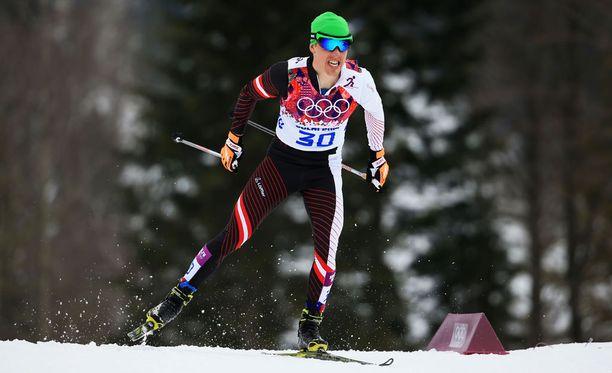 Harald Wurm edusti Itävaltaa Sotshin olympialaisissa.
