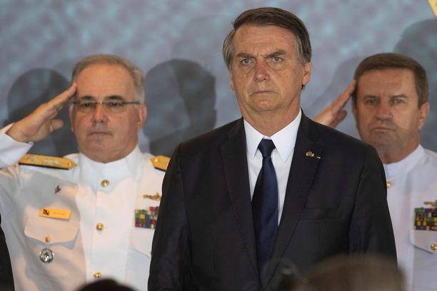 Brasilian hiljattain valittu presidentti Jair Bolsonaro on arvoiltaan erittäin konservatiivi.