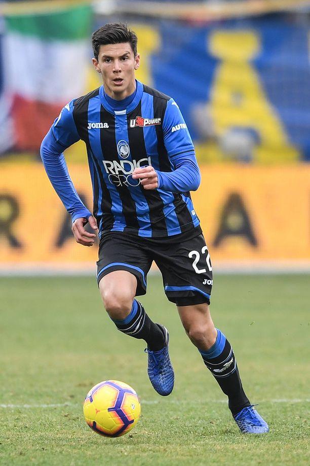 Matteo Pessina pelasi ensimmäiset Serie A -pelinsä Atalantassa viime kaudella.