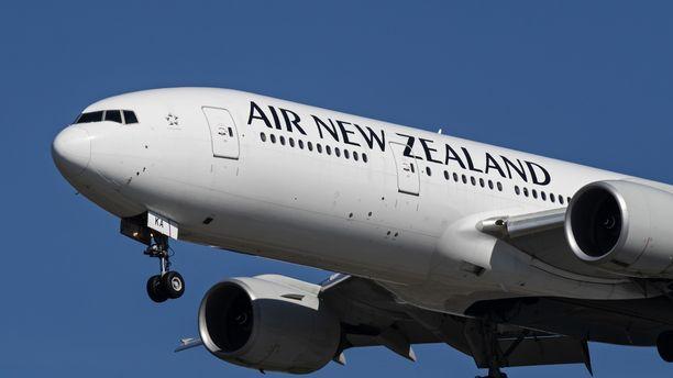 Kone oli lentämässä Wellingtonista Auclandiin.