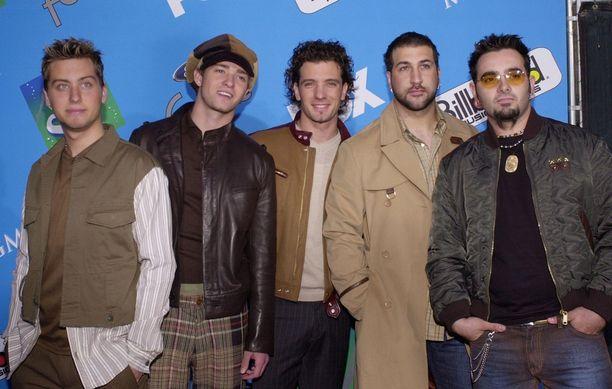 Tältä 'N Sync -yhtyeen miehet näyttivät vuonna 2001.