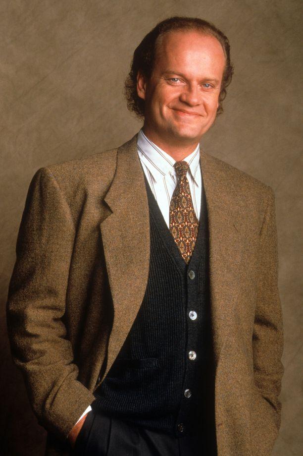 Frasier Crane oli tarkka tyylistään ja takit muistuttivat paljon toisiaan.