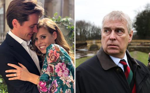 Prinssi Andrew'n kova kohtalo: Porttikielto tyttären kihlajaisjuhlaan