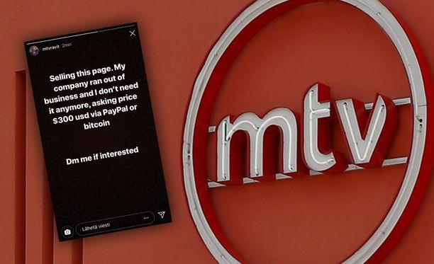 MTV:n ravitili on joutunut kaappauksen kohteeksi.
