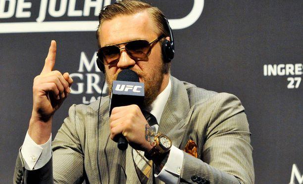 Conor McGregor ei lähtenyt Mayweatherin tarjoukseen.